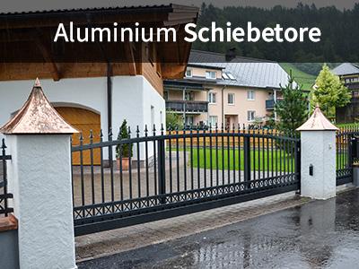 Aluminium Schiebetore