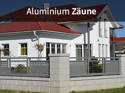 Aluminium Zäune